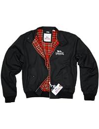 Männer Kapuzenweste mit Reißverschluss Lonsdale STEVENAGE M-XXL Hooded Vest