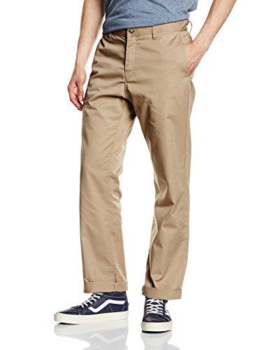 Volcom Frickin-Pantaloni Chino da uomo Beige cachi Taglia 32