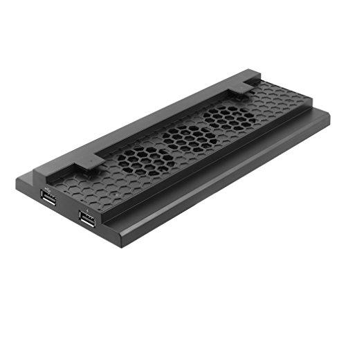 LESHP Ventilador Xbox-ONE-S Consola de Ventilador Soporte Vertical Refrigerador Turbo de Calor...