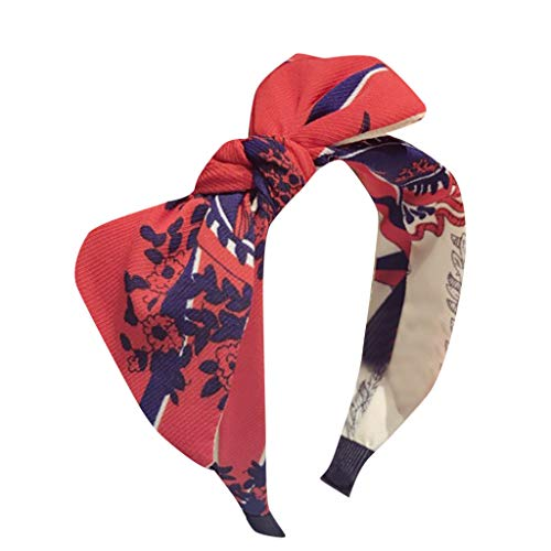 Grün, Gänseblümchen-snap (PPWOMEN Haarschmuck - Damen Stirnband Haarband Bow Knot Cross Tie Samt Headwrap Haarband Hoop (D, Eine Größe))