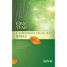 NIV One Year Chronological Bible The