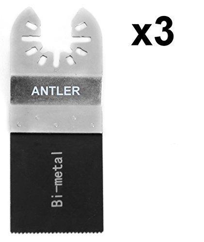 3 x Antler 35mm Bi Metallklingen Dewalt Stanley Worx F30 Erbauer Black & Decker Pendel Multifunktionswerkzeug QAB35BM
