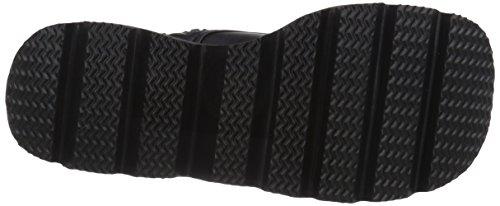 Pleaser Shaker 52, Bottes Femme Noir (Blk Vegan Leather)