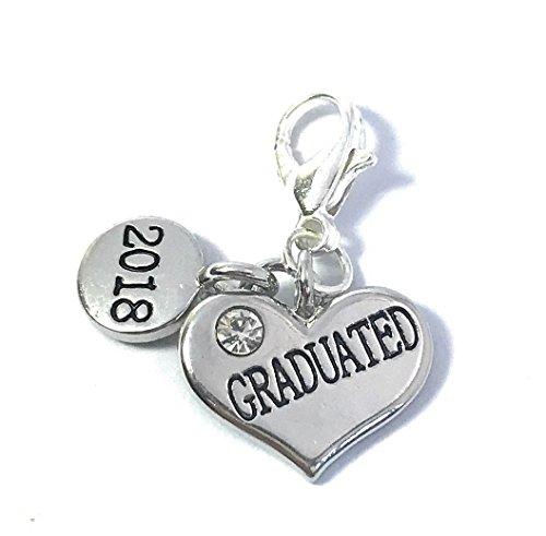 Doktorhut und Diplom 2016Graduation Clip auf Charme mit Samtbeutel von Libby 's Market Place