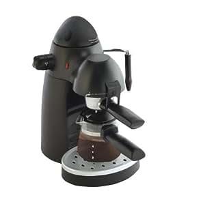 Bajaj Majesty CEX7 4-6 Cups Cappuccino Coffee Maker (Black)