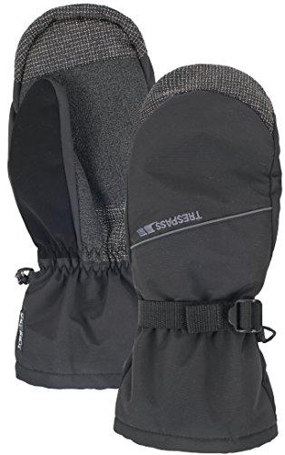 Trespass Men's Ask Snowsport Mitt schwarz schwarz X-Large (Über Snowboard-handschuh)