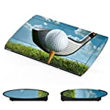 DeinDesign Sony Playstation 3 Superslim CECH-4000 Folie Skin Sticker aus Vinyl-Folie Aufkleber Golf Golfschlaeger Sport