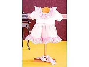 Mariquita Pérez Salmon/Lunares Complementos, Color Vestido de colección diseño Propio (Comercial de Juguetes Maripe SL 1)