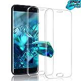 Aonsen Galaxy S7 Edge Panzerglas Schutzfolie, [2 Stück] Displayschutzfolie Panzerfolie [Einfache Installation], Gehärtetem Glass 9H Härtegrad, Anti-Kratzen, Anti-Fingerabdruck - Transparent