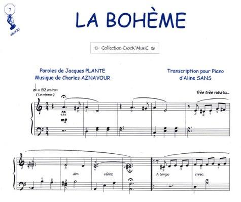 Partition : La Bohème - Piano et Parole...