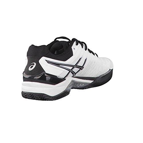 Asics - Gel-resolution 6 Clay, Scarpe da tennis Uomo bianco/nero