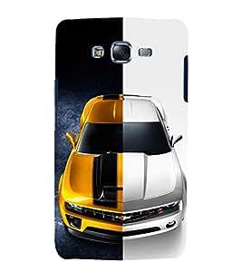 printtech Superfast car Back Case Cover for Samsung Galaxy E7 / Samsung Galaxy E7 E700F