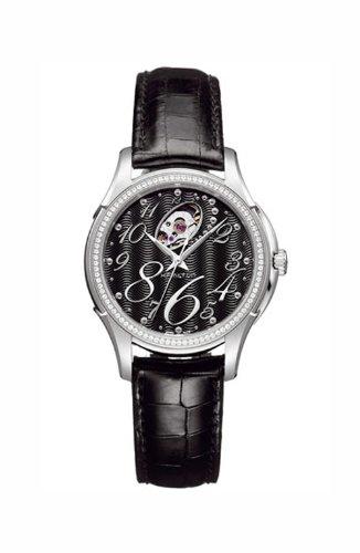 HAMILTON Women's Quartz Watch H32485733 with Leather Strap