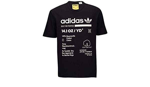 adidas Men Originals Kaval GRP TEE (XXL, Black):