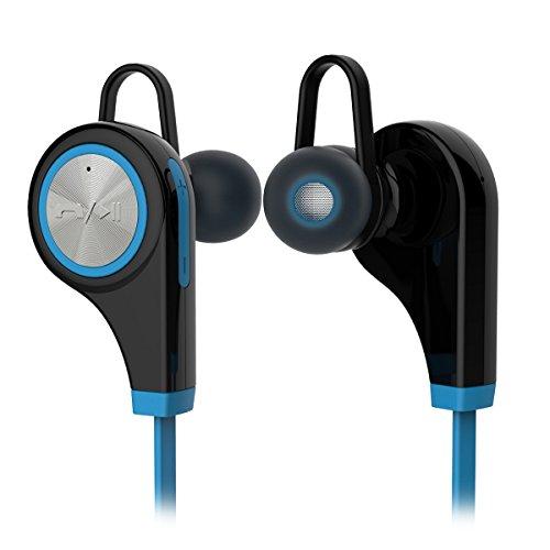 Bluetooth 4.1 Sport Kopfhörer, megadream Wireless Kopfhörer Headset mit Hände frei Mikrofon in-Ear Noise Cancelling In-Ear (Gym/Laufen/Schweiß) für iOS &Android Handy Tablet, 6 Farben erhältlich