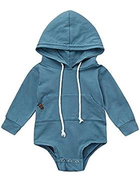 Trada Neugeborene Baby Mit Kapuze Strampler Overall Jumpsuit Junge Mädchen Kinder Romper Tops Outfits Set Babykleidung...