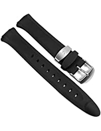 Calypso Damen Ersatzband Uhrenarmband Kunststoff Band schwarz K5162/1 K5162