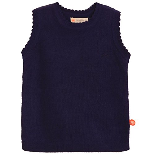 Mini Klub girls solid sleeveless sweater