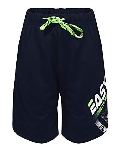 Jungen Shorts für Kids Jogginghose Boys Freizeithose Fußballshorts Bermuda Navy 158