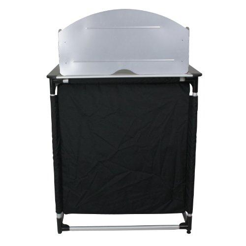 10T Camkitchen Alu Campingküche Kocherschrank mit Windschutz