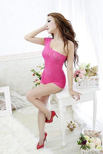 Sexy Mesh File Stück Körper Unterwäsche Sexy Unterwäsche Nylon Wolle All Code Rose Red