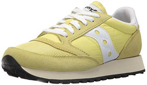 Saucony Jazz o Vintage, Sneaker Donna, Giallo (YEL/Wht 24), 37 EU