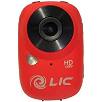 Liquid Image Ego HD 1080P WiFi Action Video Camera - Red