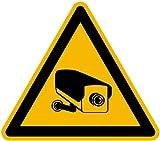 Schild Alu Warnung vor Videoüberwachung SL 200mm