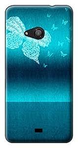 SkinPrints Hard Case Back Cover for Microsoft Lumia Lumia 535 - Printed Designer Hard Plastic Case
