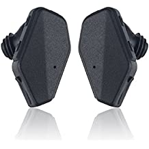 iVoler TB-01 Auricolare Bluetooth 4.1 Cuffie Wireless Stereo in Ear con Microfono e AptX Senza Fili sport Headset Earphones Headphones per iPhone 7 Plus 6s 5s 4s, Samsung, Huawei, Tablet PC, MP3, Android Smartphone (Nero)