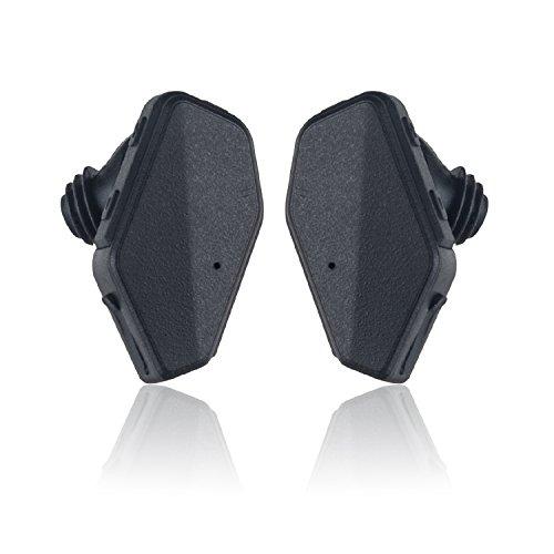 iVoler TB-01 Oreillette Bluetooth 4.1 Une Paire Truly Wireless Stéréo Casque Sans fil Sport Écouteurs avec Microphone, Annulation de Bruit, Mains libre pour iPhone 7 7 Plus, Samsung, Android, et d'autre Smartphone - Noir