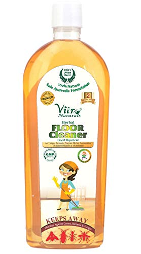 VITRO Floor Cleaner Herbal Mosquito Repellent (Multi Floor Cleaner) 200 ml