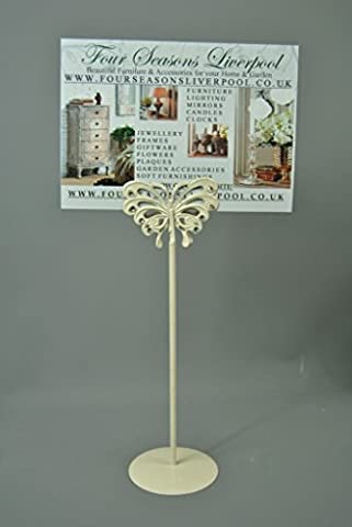 Cream And Diamond Butterfly Table Number Holders Ideal For Weddings Or Special Occasions Even Christmas