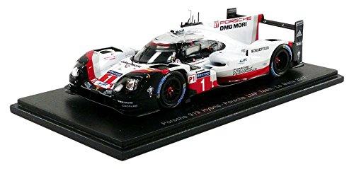 Spark–Miniatur Auto Porsche 919Hybrid Le Mans 2017Maßstab 1/43, s5801, weiß/rot/schwarz