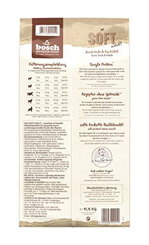 Bosch 2 x 12,5 kg Soft Adult Land-Ente & Kartoffel