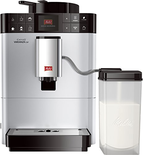 Melitta Caffeo Varianza CSP F570-101, Kaffeevollautomat mit Milchbehälter, One Touch Funktion,...