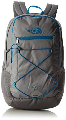 The north face rodey, zaino unisex, grigio/celeste, taglia unica