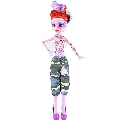mxjeeio Coole Mode handgemachte Kurze Ärmel Set Kleid -