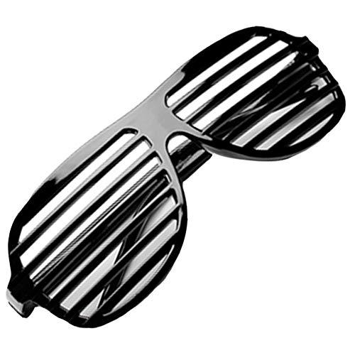 Party-Spaß Cool Fashion Shutter-Brille für Kostüm-Festival Tanzdarbietungen Dekoration Shades Sonnenbrille Club-Brillen