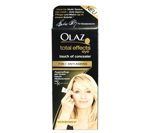 Olaz Augenpflege total effects Touch of Concealer / Anti-Age + Abdeckcreme / 7in1-Effekt, Augenpflegestift
