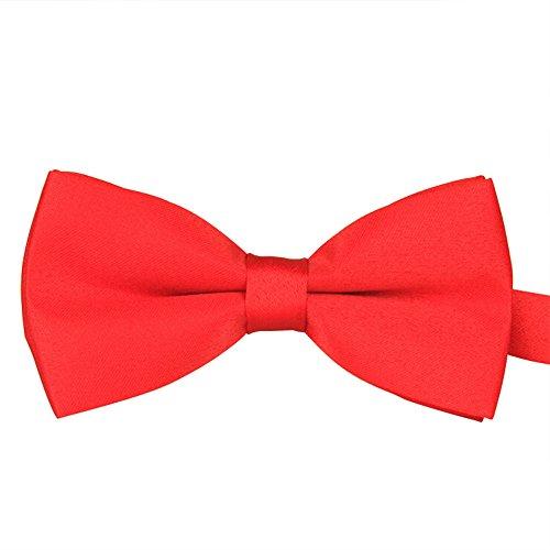 Goldatila Men's Ties, Cummerbunds & Pocket Squares Men's Polyester Silk Bow Tie Casual Jacquard Bow Tie Monochrome Double Bow Tie Paisley Cummerbund