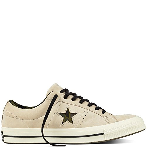 Converse Skate One Star Pro Ox Suede, Chaussures de Fitness Mixte Adulte, Jaune (Mineral Yellow/White/Black 703), 44 EU