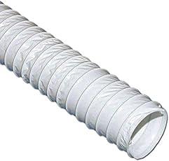 VIOKS Abluftschlauch 10 Meter / 100mm PVC Schlauch Flexibel für Klimaanlage, Abzugshaube, Wäschetrockner