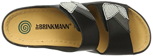 Dr. Brinkmann 701044, Mules Femme Noir