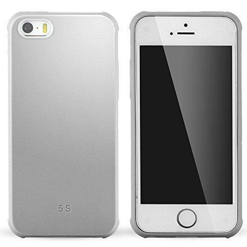 iPhone 5 Coque,iPhone 5s Coque,iPhone Se Coque,Lizimandu Tpu Silicone Gel Étui Housse Protection Shell Cover Case Pour apple iphone 5/5s/se(Dragon Bleu/Dragon Blue) Gris/Grey