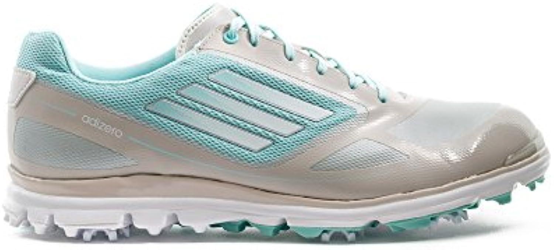 adidas W Adizero Tour III – Zapatillas para mujer – Gris/Blanco/Azul