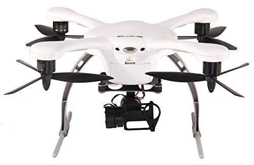 EHANG GHOST Drone Aerial Quadcopter (Android / Weiß) - Kompatibel mit GoPro Hero 2/3/3+/4 Kamera
