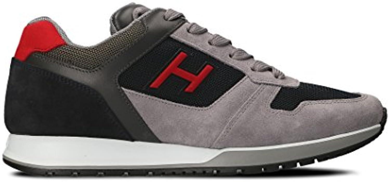 Hogan Hombre HXM3210Y861I7G786Z Gris Cuero Zapatillas  -