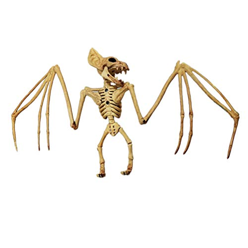 Halloween Fledermaus Skelett Simulation Skelett Gruselige Szene Prop Party Scary Toy Dekoration