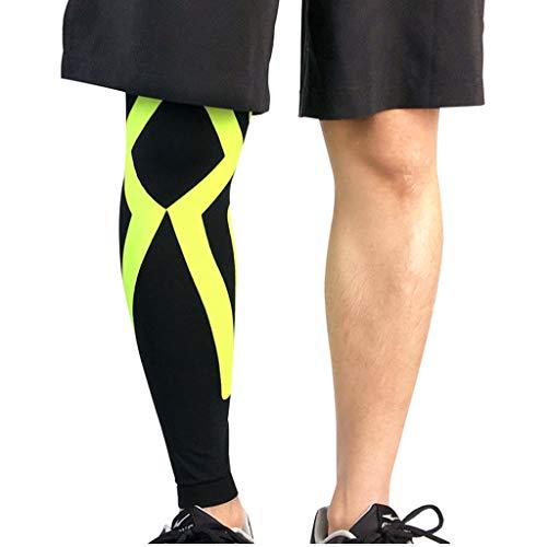 ChengLao Kneepad Knieschützer - 1 STÜCKE Sport Sicherheit Beinlinge Atmungsaktiv Lycra Radfahren Laufen Basketball Kompression Bein Knieschützer Ärmel Stulpen Protective Knieschützer